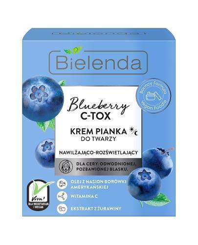 Bielenda Bluberry C - TOX Krem Pianka do twarzy - 40 g - cena, opinie, właściwości  - Drogeria Melissa
