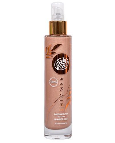 Bielenda BodyBoom Rozświetlacz do ciała Shimmer Gold - 100 ml - cena, opinie, właściwości - Apteka internetowa Melissa