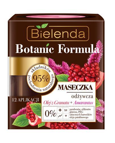 BIELENDA BOTANIC FORMULA Olej z granatu + amarantus Maseczka odżywcza - 50 ml - Apteka internetowa Melissa