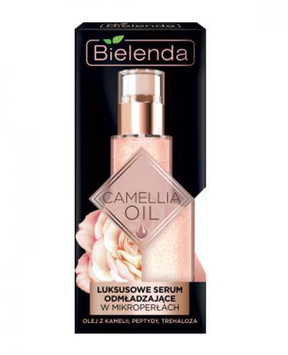 BIELENDA CAMELLIA OIL Luksusowe serum odmładzające na dzień i na noc - 30 g