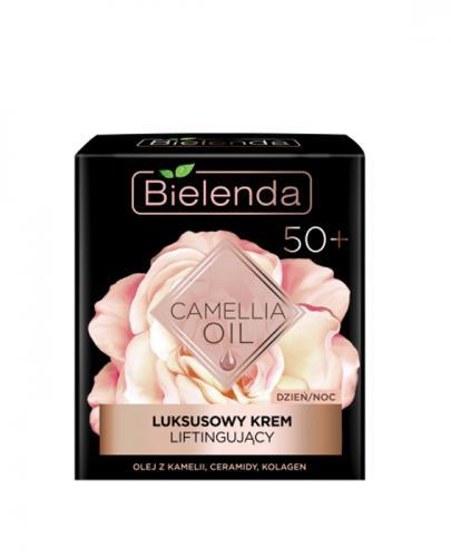 BIELENDA CAMELLIA OIL Luksusowy krem liftingujący na dzień i na noc 50+ - 50 ml - Apteka internetowa Melissa