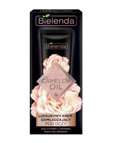 BIELENDA CAMELLIA OIL Luksusowy krem odmładzający pod oczy i na powieki - 15 ml - Apteka internetowa Melissa