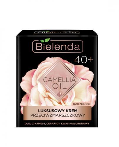 BIELENDA CAMELLIA OIL Luksusowy krem przeciwzmarszczkowy na dzień i na noc 40+ - 50 ml - Apteka internetowa Melissa