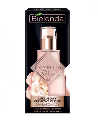 BIELENDA CAMELLIA OIL Luksusowy kremowy olejek odmładzający na dzień i na noc - 15 ml
