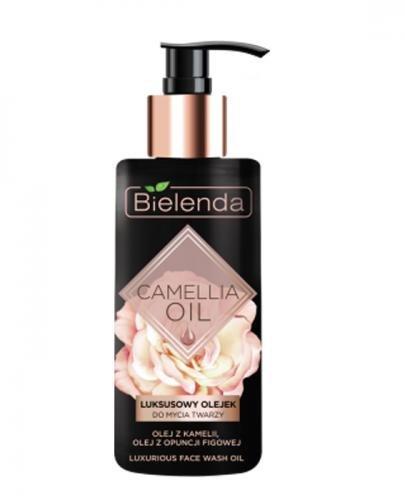 BIELENDA CAMELLIA OIL Luksusowy olejek do mycia twarzy - 140 ml - Apteka internetowa Melissa