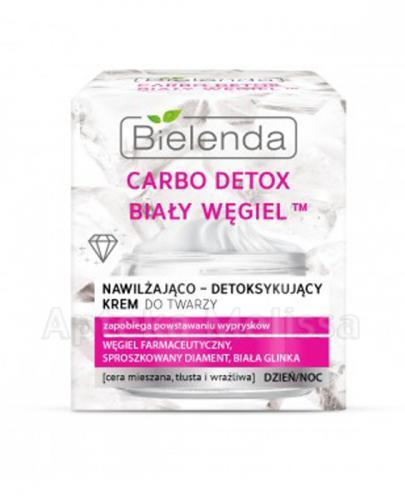 BIELENDA CARBO DETOX BIAŁY WĘGIEL Nawilżająco-detoksykujący krem do twarzy - 50 ml - Apteka internetowa Melissa