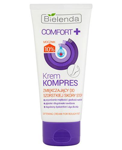 BIELENDA COMFORT+ Krem kompres zmiękczający do szorstkiej skóry stóp - 100 ml
