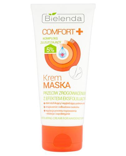 BIELENDA COMFORT+ Krem maska przeciw zrogowaceniom z efektem eksfoliującym - 100 ml