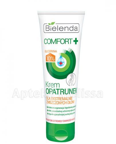 BIELENDA COMFORT+ Krem opatrunek dla ekstremalnie zniszczonych dłoni - 75 ml