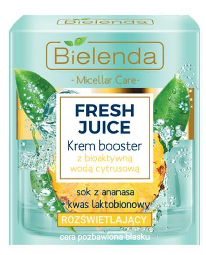 BIELENDA FRESH JUICE Krem rozświetlający Ananas - 50 ml - cena, opinie, właściwości - Drogeria Melissa