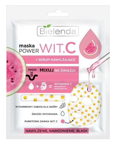 Bielenda Maska Power Wit.C + serum nawilżające - 22 ml - cena, opinie, właściwości