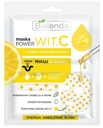 Bielenda Maska Power Wit.C + serum rozświetlające - 22 ml - cena, opinie, wskazania - Apteka internetowa Melissa