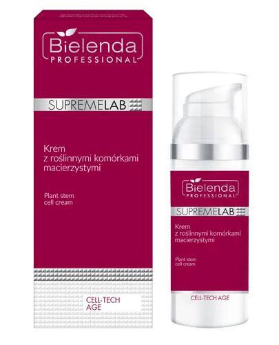Bielenda Professional Supremelab Krem z roślinnymi komórkami macierzystymi - 50 ml - cena, opinie, wskazania - Drogeria Melissa
