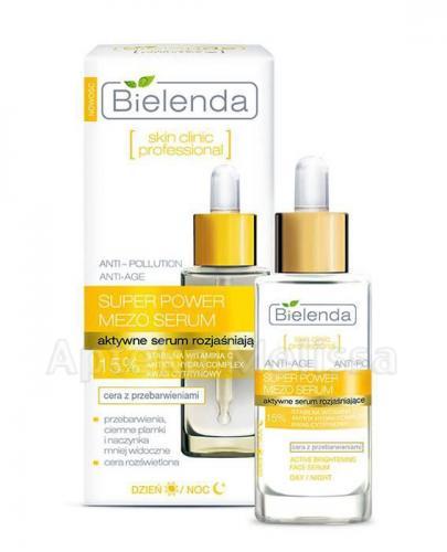 BIELENDA SKIN CLINIC PROFESSIONAL Aktywne serum rozjaśniające - 30 g - Apteka internetowa Melissa