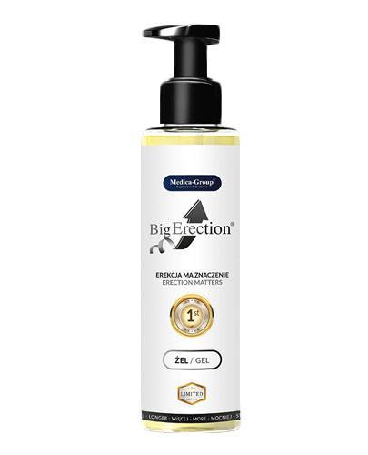 BigErection Żel intymny dla mężczyzn - 150 ml - Mocna i długa erekcja - cena, opinie, wskazania