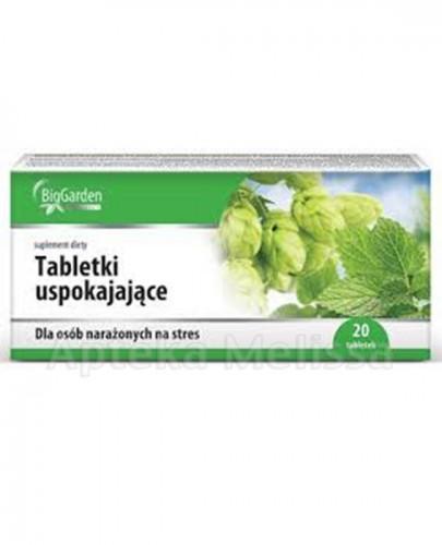 BIGGARDEN Tabletki uspokajające - 20 tabl.