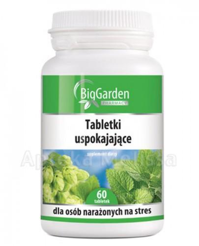 BIGGARDEN Tabletki uspakajające - 60 tabl.