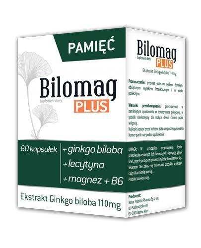 BILOMAG PLUS - 60 kaps. - Drogeria Melissa