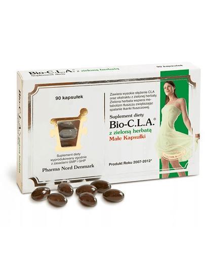 BIO-CLA z zielona herbatą - 90 kaps. Wsparcie w procesie odchudzania. - Drogeria Melissa