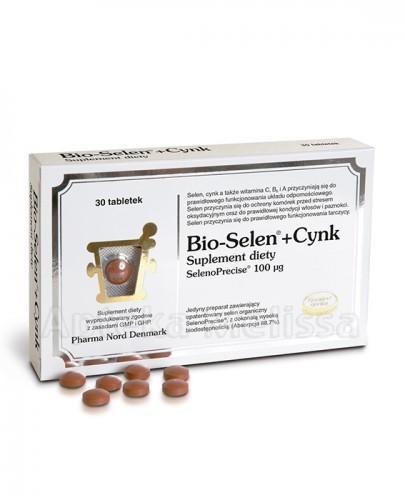 BIO-SELEN+CYNK - 30 tabl.   - Apteka internetowa Melissa