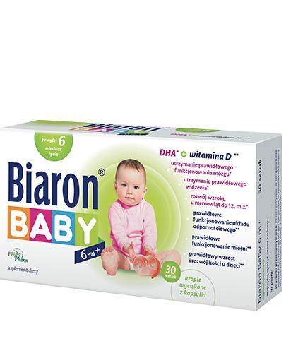 BIOARON BABY 6m+  - 30 kaps. Data ważności: 2019.09.30 - Apteka internetowa Melissa