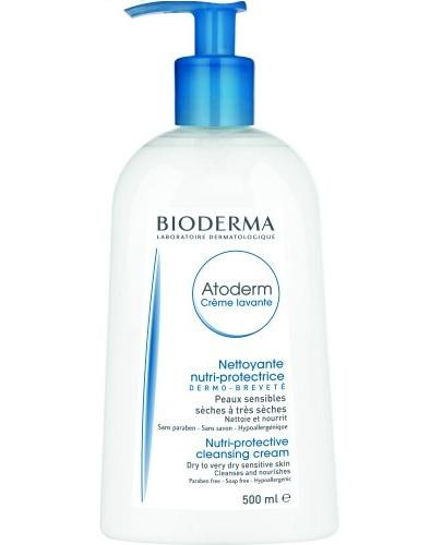 BIODERMA ATODERM CREME LAVANTE Kremowy żel pod prysznic - 500 ml - Drogeria Melissa