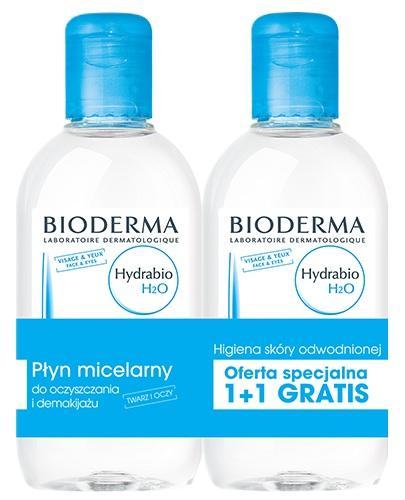 Bioderma Hydrabio H2O Płyn micelarny Duopack - Apteka internetowa Melissa