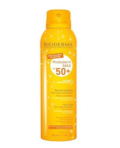 Bioderma Photoderm Max Brume Solaire SPF 50+ Aktywna mgiełka do ciała - 150 ml - cena, opinie, właściwości  - Apteka internetowa Melissa