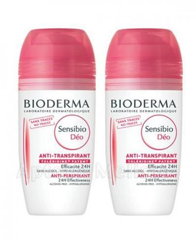 BIODERMA SENSIBIO DEO Antyperspirant do skóry wrażliwej - 2 x 50 ml