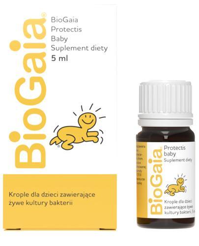 BioGaia Suplement na kolki niemowlęce - 5 ml - cena, opinie, dawkowanie - Drogeria Melissa