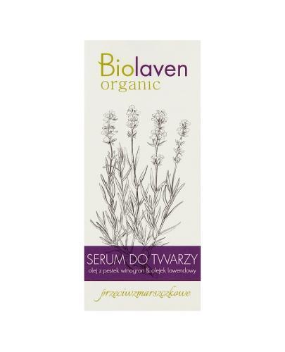 BIOLAVEN Przeciwzmarszczkowe serum do twarzy - 30 ml - Apteka internetowa Melissa