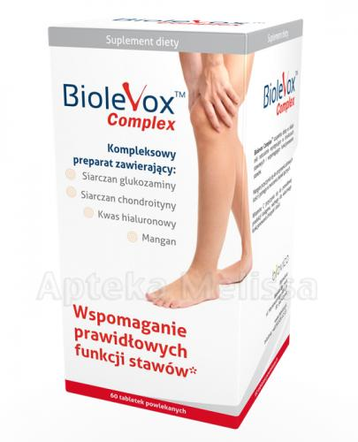 BIOLEVOX COMPLEX - 60 tabl. - Apteka internetowa Melissa