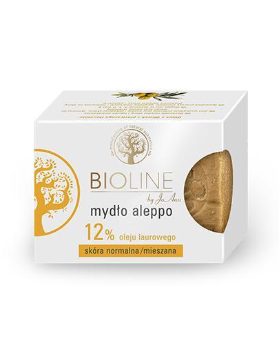 BIOLINE CLINIQUE Mydło aleppo 12% oleju laurowego - 200 g - Apteka internetowa Melissa