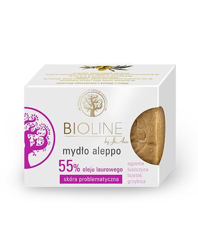 BIOLINE CLINIQUE Mydło aleppo 55% oleju laurowego - 200 g - Apteka internetowa Melissa