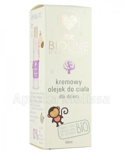 BIOLINE BIO Kremowy olejek do ciała dla dzieci - 50 ml - Apteka internetowa Melissa