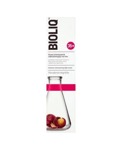 BIOLIQ 35+ Krem intensywnie odbudowujący na noc - 50 ml - Apteka internetowa Melissa