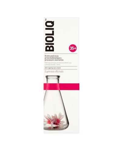 BIOLIQ 35+ Krem pod oczy przeciwdziałający procesom starzenia - 15 ml  - Drogeria Melissa