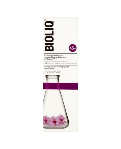 BIOLIQ 45+ Krem ujędrniająco-wygładzający do skóry oczu i ust - 15 ml - Drogeria Melissa