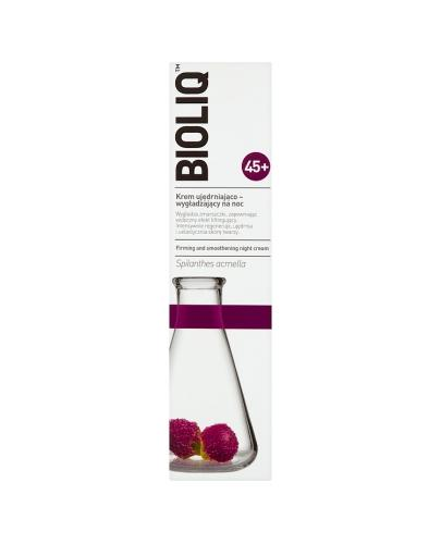 BIOLIQ 45+ Krem ujędrniająco-wygładzający na noc - 50 ml - Drogeria Melissa