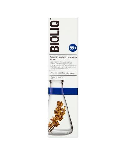 BIOLIQ 55+ Krem intensywnie liftingująco-odżywczy na noc - 50 ml - Apteka internetowa Melissa