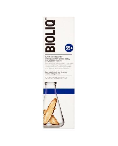 BIOLIQ 55+ Krem intensywnie liftingujący do skóry oczu, ust, szyi i dekoltu - 30 ml - Drogeria Melissa