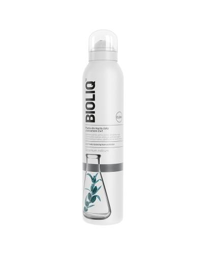 BIOLIQ CLEAN Pianka do mycia ciała z balsamem 2w1 - 240 ml
