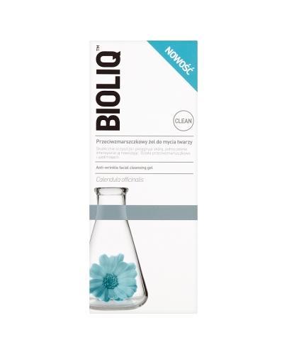 BIOLIQ CLEAN Przeciwzmarszczkowy żel do mycia twarzy - 125 ml