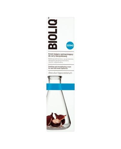 BIOLIQ DERMO Krem kojąco-wzmacniający do cery naczynkowej - 50 ml - Drogeria Melissa