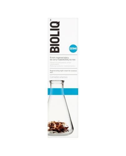 BIOLIQ DERMO Krem regenerujący do cery trądzikowej na noc - 50 ml - Drogeria Melissa