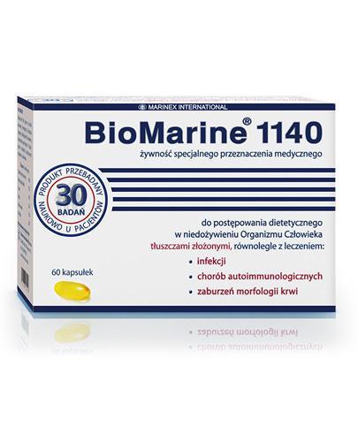 BIOMARINE 1140 - 60 kaps. - układ odpornościowy i limfatyczny - cena, ulotka, dawkowanie - Apteka internetowa Melissa