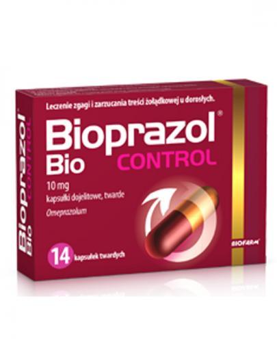 BIOPRAZOL BIO Control 10 mg - 14 kaps. Data ważności: 2019.06.30 - Apteka internetowa Melissa
