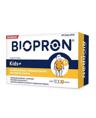 BIOPRON KIDS+ - 10 kaps. - cena, dawkowanie, opinie  - Apteka internetowa Melissa