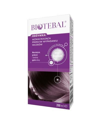 BIOTEBAL Odżywka przeciw wypadaniu włosów - 200 ml - Apteka internetowa Melissa