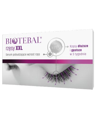 BIOTEBAL RZĘSY XXL Serum - 3 ml - Apteka internetowa Melissa